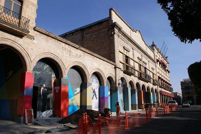 exterior Teatro Mariano Matamoros Morelia
