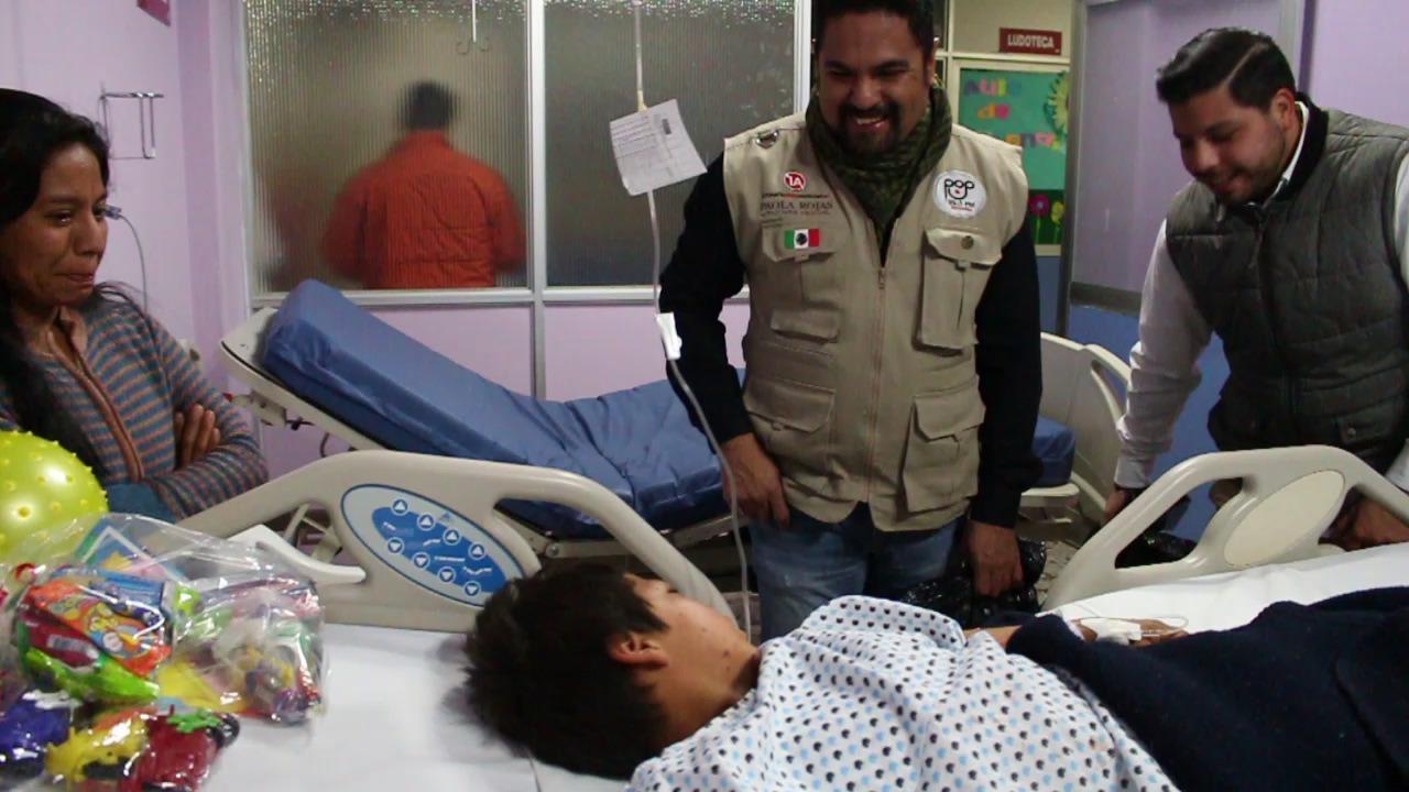 regalos reyes primera plana hospital