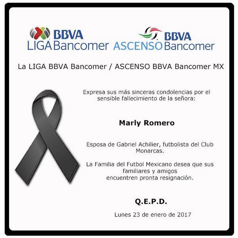 Falleció la esposa del futbolista ecuatoriano — Gabriel Achilier