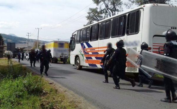 autobus policia michoacan