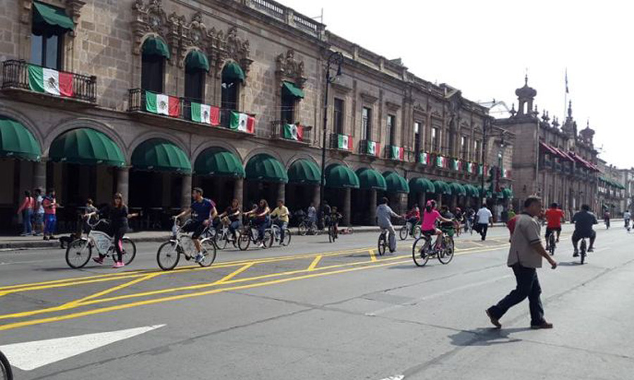 bicicleta carril
