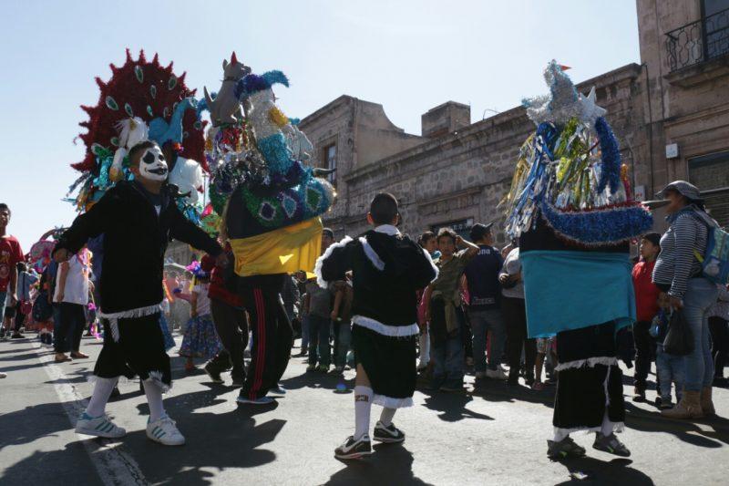 desfile torito petate morelia niños