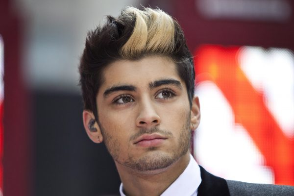 "Malik performs with his band ""One Direction"" on NBC's Today show in New York"