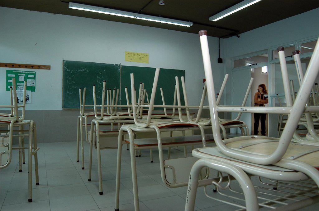 escuelas en paro