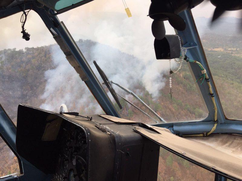 Incendios forestales afectan 3.9 mil hectáreas en 2017: Conafor