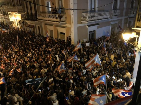 Resultado de imagen para Renuncia el gobernador de Puerto Rico y se prende la fiesta en Twitter